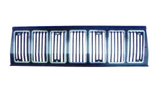 JEEP CHEROKEE '84-'96 GRILLE RADIATOR(BRIGHT