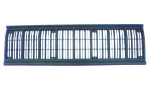 JEEP CHEROKEE '84-'96 GRILLE RADIATOR(BLACK)