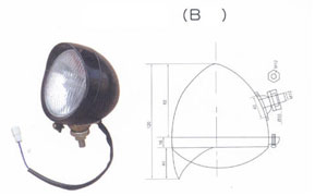 TRAILER BACK LAMP(B)