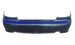 ACCENT '98 REAR BUMPER(W/O HOLE)