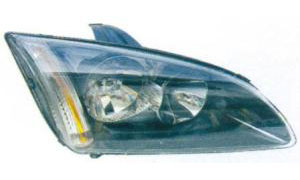 FOCUS '05 HEAD LAMP(BLACK)