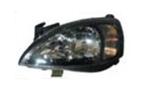 OPEL CORSA 10/00'-'02 HEAD LAMP(BLACK)
