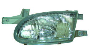 ACCENT '98 HEAD LAMP(OLD)
