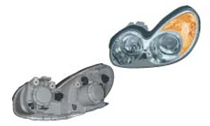 SONATA'03 HEAD LAMP(ELECTRIC/YELLOW)