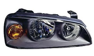 ELANTRA'04 HEAD LAMP(BLACK/ELECTRIC HOLE)