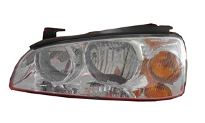 ELANTRA'04 HEAD LAMP(WHITE/ELECTRIC HOLE)