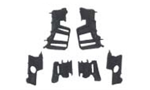 RIO'05 FRONT BUMPER SUPPORT SET